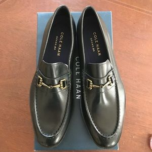 622b976b69e Cole Haan Shoes - Cole Haan Hamilton Grand Bit Loafer BLK Leather